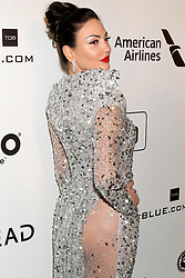 February 24, 2019 - West Hollywood, CA, USA - LOS ANGELES - FEB 24:  Bleona at the Elton John Oscar Viewing Party on the West Hollywood Park on February 24, 2019 in West Hollywood, CA (Credit Image: © Kay Blake/ZUMA Wire)