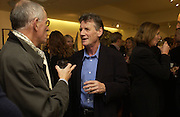 Michael Palin, Gerald Scarfe Book launch and exhibition. Fine art Society. New Bond St. London. 3 November 2005. . ONE TIME USE ONLY - DO NOT ARCHIVE © Copyright Photograph by Dafydd Jones 66 Stockwell Park Rd. London SW9 0DA Tel 020 7733 0108 www.dafjones.com