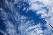 USA, Oregon, Keizer, skyscape.