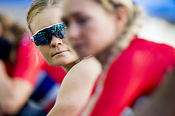 September 23, 2017 - Bergen, NORWAY - 170923 Emilie Moberg of Norway warms up ahead of the Women Elite Road Race on September 23, 2017 in Bergen..Photo: Vegard Wivestad GrÂ¿tt / BILDBYRN / kod VG / 170026 (Credit Image: © Vegard Wivestad Gr¯Tt/Bildbyran via ZUMA Wire)