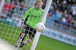 08-11-2009 VOETBAL: FC UTRECHT - HEERENVEEN: UTRECHT<br /> Utrecht verliest met 3-2 van Heerenveen / Brian Vandenbusschel<br /> ©2009-WWW.FOTOHOOGENDOORN.NL