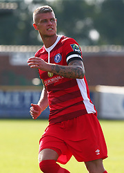 August 28, 2017 - London, United Kingdom - Paul Konchesky of Billericay Town.during Bostik League Premier Division match between Thurrock vs Billericay Town at  Ship Lane Ground, Aveley on 28 August 2017  (Credit Image: © Kieran Galvin/NurPhoto via ZUMA Press)