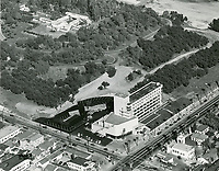 1953 Aerial photo of Barnsdall Park