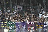 Tifosi Fiorentina supporters <br /> Napoli 15-09-2018 Stadio San Paolo Football Calcio Serie A 2018/2019 Napoli - Fiorentina <br /> Foto Andrea Staccioli / Insidefoto