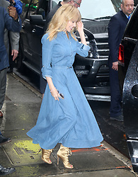 Kylie Minogue at 'Good Morning America' in New York. 27 Apr 2018 Pictured: Kylie Minogue. Photo credit: MEGA TheMegaAgency.com +1 888 505 6342