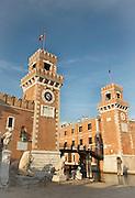 Venetian Arsenal shipyard, Castello District, Venice, Italy, Europe