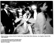 Prince arriving  at Steve Tisch &  Vanity Fair's Oscar Night Party,<br />Mortons,  Los Angeles. March 1994.  Film 94568/23<br /> <br />© Copyright Photograph by Dafydd Jones<br />66 Stockwell Park Rd. London SW9 0DA<br />Tel 0171 733 0108.
