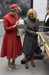 November 19, 2018 - Gand - La Reine Mathilde d'Udekem d'Acoz et Madame Brigitte Macron effectuent une visite d'Etat en Belgique (Credit Image: © Panoramic via ZUMA Press)
