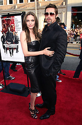 File Photo: 10 August 2009 - Hollywood, California - Brad Pitt and Angelina Jolie. 'Inglourious Basterds' Los Angeles Premiere held at Grauman?s Chinese Theatre. Photo Credit: T. Conrad/AdMedia