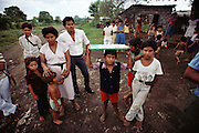 Residents of a small neighborhood in Leon, Nicaragua.