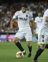 May 9, 2019 - Valencia, Valencia, Spain - Guedes of Valencia in action during UEFA Europa League football match, between Valencia and Arsenal, May 09th, in Mestalla stadium in Valencia, Spain. (Credit Image: © AFP7 via ZUMA Wire)