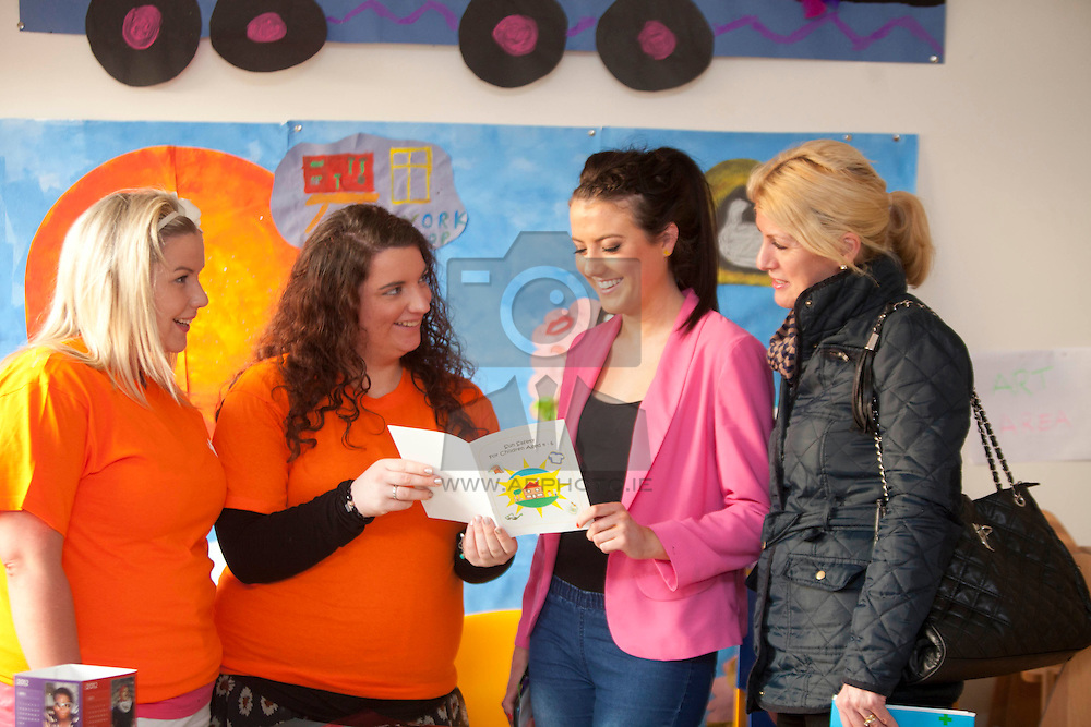 Rebbecca Flood from Dunboyne, Katie Duffy from Mayon and Melissa Rossiter from Swords