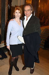 Actress JANE ASHER and her husband MR GERALD SCARFE at a reception to celebrate the opening of Turks:A Journey of a Thousand Years, 600-1600 - an exhibition of Turkish art held at the Royal Academy of Arts, Piccadilly, London on 18th February 2005.<br /><br />NON EXCLUSIVE - WORLD RIGHTS