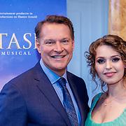 NLD/Amsterdam/20190214 - Musical Anastacia presentatie, Albert Verlinde en Tessa van Tol