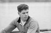 Staines, GREAT BRITAIN,   <br /> Pete BEAUMONT<br /> British Rowing Men's Heavy Weight Assessment. Thorpe Park. Sunday 27.02.1987,<br /> <br /> [Mandatory Credit, Peter Spurrier / Intersport-images] 1987 GBR Men's H/Weight 3rd Assessment Thorpe Park, Surrey. UK