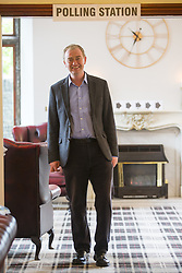 June 8, 2017 - Kendal, Cumbria, UK - Kendal UK. Liberal Democrat leader Tim Farron casting his vote this morning at the Stonecross Manor Hotel in Kendal in his Westmorland & Lonsdale constituency. (Credit Image: © Andrew Mccaren/London News Pictures via ZUMA Wire)