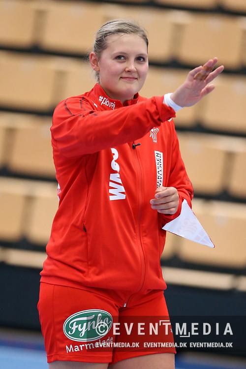 Danmark B (Udviklingslandsholdet) mod Norge B (Rekruttjentene) i Hammel Idrætscenter, Danmark, fredag den 28. september 2018. Photo Credit: Allan Jensen/EVENTMEDIA.