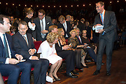 Koning Willem-Alexander en Koningin Máxima en Prinses Beatrix der Nederlanden zijn aanwezig bij de slotviering van 200 jaar Koninkrijk der Nederlanden in Amsterdam. De twee jaar durende viering wordt afgesloten met een bijeenkomst in Koninklijk Theater Carré en met een avond vol optredens op de Amstel.<br /> <br /> King Willem-Alexander and Princess Maxima and Queen Beatrix of the Netherlands to attend the final celebration of 200 years of Kingdom of the Netherlands in Amsterdam. The two-year celebration will end with a meeting in the Royal Theatre Carré and an evening of performances at the Amstel.<br /> <br /> Op de foto / On the Photo: Koning Willem-Alexander en Koningin Máxima met Prinses Beatrix in Carre / King Willem-Alexander and Queen Maxima with Princess Beatrix in Carre