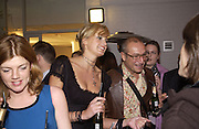 Mrs. Harry Blain and Greg Davis. Rachel Whiteread, Haunch of Venison opening party. 28 October 2002. © Copyright Photograph by Dafydd Jones 66 Stockwell Park Rd. London SW9 0DA Tel 020 7733 0108 www.dafjones.com