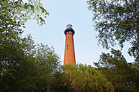 Archietecture,the Currituck Beach Light is a lighthouse located on the Outer Banks in Corolla, North Carolina.