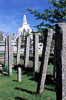 Sri Lanka<br /> Anuradhapura - Thuparama Dagoba