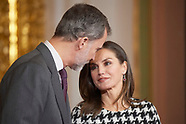 021819 Spanish Royals Attend the Gold Medals of Merit in Fine Arts 2017 ceremony