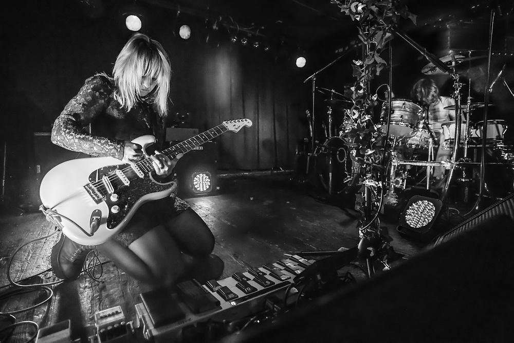 Ritzy Bryan of Welsh indie-rock band The Joy Formidable at Nachtleben in Frankfurt