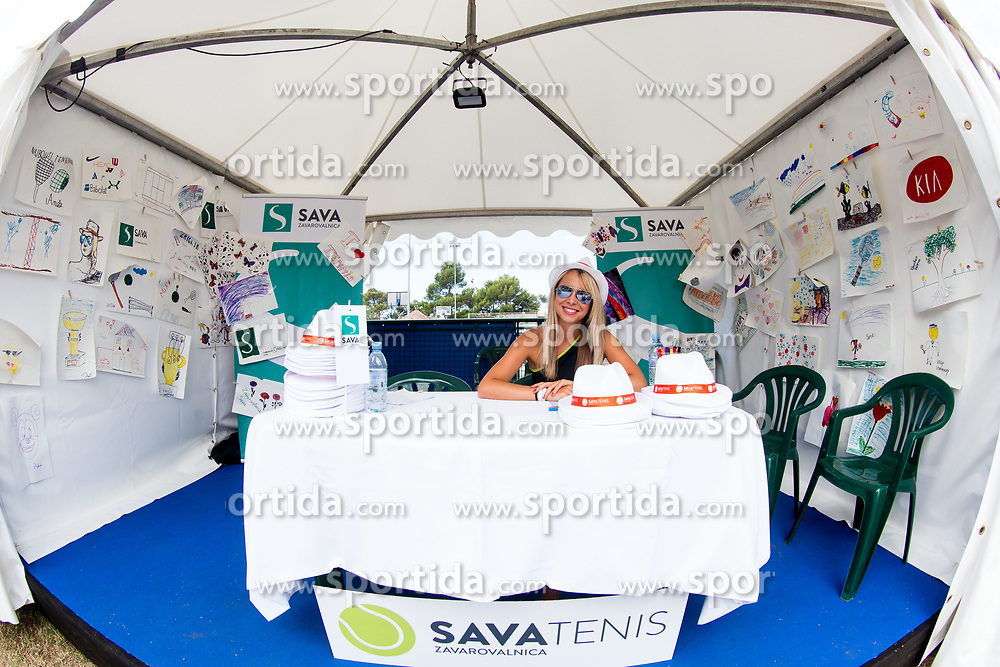 Tennis tournament  ATP Challenger Zavarovalnica Sava Slovenia Open 2017, on August 11, 2017 in Sports centre, Portoroz/Portorose, Slovenia. Photo by Vid Ponikvar / Sportida
