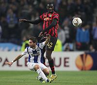 20120216: PORTO, PORTUGAL – UEFA Europa League 2011/2012 - 1/16 Final - 1st Leg: FC Porto vs Man. City.<br /> In photo: JOAO MOUTINHO AND TOURE.<br /> PHOTO: PEDRO PEREIRA/CITYFILES