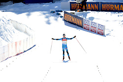 14.02.2021, Center Pokljuka, Pokljuka, SLO, IBU Weltmeisterschaften Biathlon, Sprint, Herren, im Bild jacquelin (emilien) (fra) // during mens Sprint competition of IBU Biathlon World Championships at the Center Pokljuka in Pokljuka, Slovenia on 2021/02/14. EXPA Pictures © 2021, PhotoCredit: EXPA/ Pressesports/ Frederic Mons<br /> <br /> *****ATTENTION - for AUT, SLO, CRO, SRB, BIH, MAZ, POL only*****