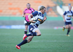 Jean de Villiers of the DHL Stormers in action during the final warm-up match before the start of the Super Rugby season between the DHL Stormers and the Boland Cavaliers held at DHL Newlands Stadium in Cape Town, South Africa on 12 February 2011. Photo by Jacques Rossouw/SPORTZPICS