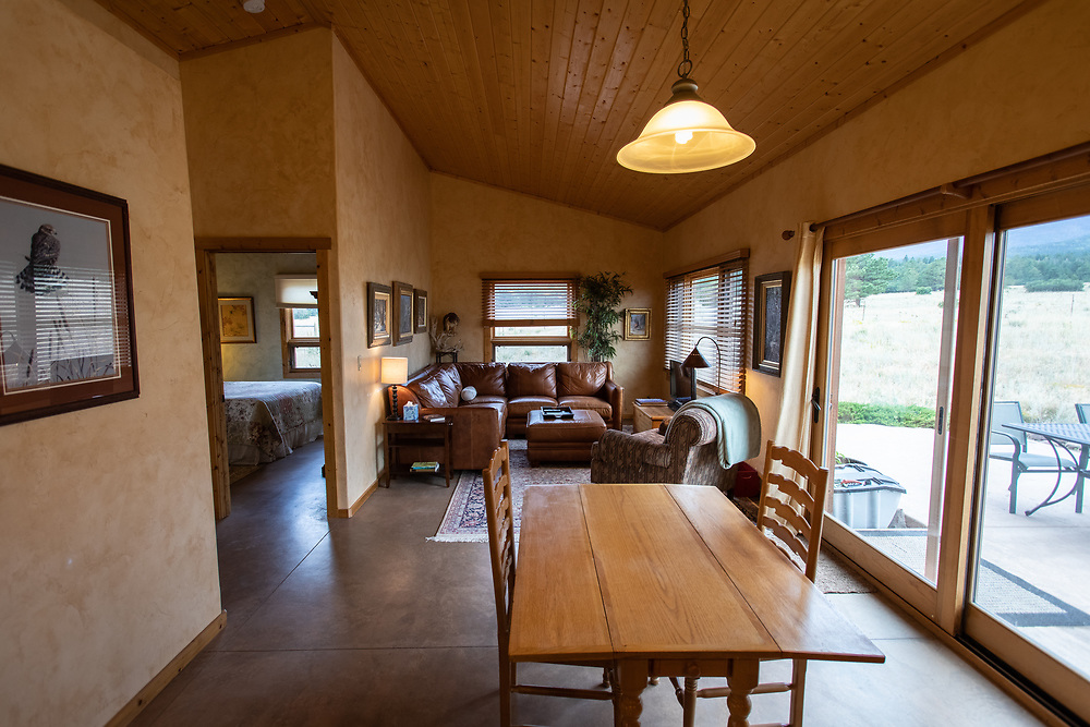 Robin Wallerich's cute cabin near Hillside is available for overnight rentals.