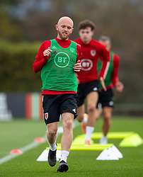 CARDIFF, WALES - Wednesday, September 2, 2020: Wales' Jonathan Williams during a training session at the Vale Resort ahead of the UEFA Nations League Group Stage League B Group 4 match between Finland and Wales. (Pic by David Rawcliffe/Propaganda)