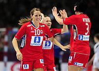 HANDBALL - WOMEN WORLD CHAMPIONSHIP 2007 - PARIS (FRA) - 15/12/2007 - PHOTO: FRANCK FAUGERE / DPPI<br />1/2 FINAL - NORWAY (33) VS GERMANY (30) - GRO HAMMERSENG (NOR)