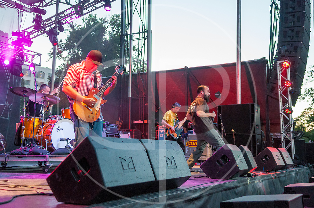 BALTIMORE United States - September 27, 2014: Clutch performs at The Shindig, in Baltimore's historic Carroll Park