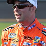 Nationwide driver Eric McClure at Daytona International Speedway on February 18, 2011 in Daytona Beach, Florida. (AP Photo/Alex Menendez)