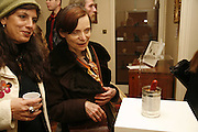 Regine de Lahey and Veronique Grettom, Polymorphous Perverse. Tim Noble and Sue Webster curated by James Putnam. the freud Museum. Maresfield Gdns. London. 7 November 2006. ONE TIME USE ONLY - DO NOT ARCHIVE  © Copyright Photograph by Dafydd Jones 66 Stockwell Park Rd. London SW9 0DA Tel 020 7733 0108 www.dafjones.com