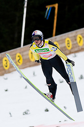 Thomas MORGENSTERN of Austria during Flying Hill Individual First Round at 2st day of FIS Ski Jumping World Cup Finals Planica 2011, on March 17, 2011, Planica, Slovenia. (Photo By Matic Klansek Velej / Sportida.com)