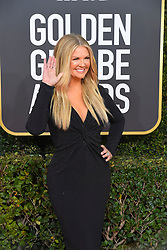 January 6, 2019 - Los Angeles, California, U.S. - Jan 6, 2019 - Beverly Hills, California, U.S. - Nancy O'Dell during red carpet arrivals for the 76th Annual Golden Globe Awards at The Beverly Hilton Hotel..(Credit: © Kevin Sullivan via ZUMA Wire) (Credit Image: © Kevin Sullivan via ZUMA Wire)