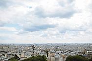 View from Sacré-Cœur in Paris, France