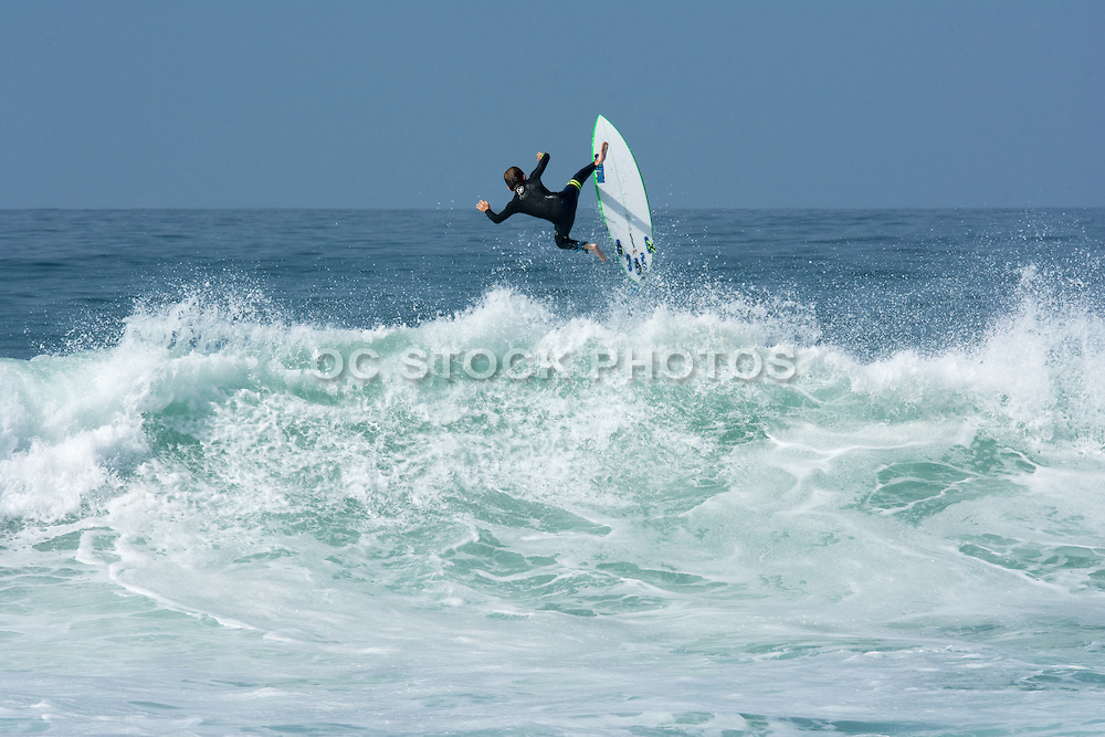 Surfing in Southern California Stock Photos