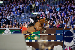 BOST Roger Yves (FRA) Sangria du Coty<br /> Genf - CHI Rolex Grand Slam 2017<br /> Grand Prix Rolex - Rolex Grand Slam of Show Jumping<br /> © www.sportfotos-lafrentz.de