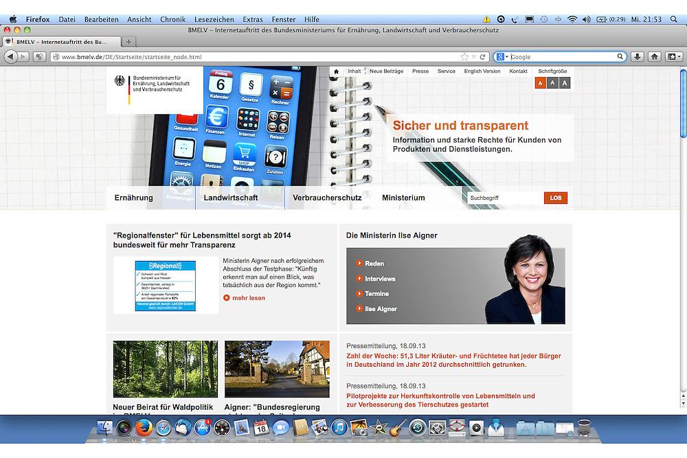 Bundesministerium BMELV, Corporate Design Bilderpool