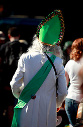 16 March 2013. New Orleans, Louisiana,  USA. .Saint Patrick's Day parade in New Orleans..Photo; Charlie Varley.