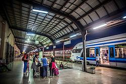 Railway station in Zagreb, on June 24, 2016 in Zagreb, Croatia. Photo by Vid Ponikvar / Sportida