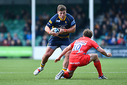 Ethan Waller of Worcester Warriors in action - Mandatory by-line: Craig Thomas/JMP - 13/04/2019 - RUGBY - Sixways Stadium - Worcester, England - Worcester Warriors v Sale Sharks - Gallagher Premiership Rugby