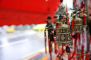 Ornamental bell mobiles, Little India, Singapore