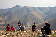Travellers at rest Central Jordan Valley. The Jordan Rift Valley, also Jordan Valley also called the Syro-African Depression, is an elongated depression located in modern-day Israel, Jordan, and Palestine. This geographic region includes the entire length of the Jordan River – from its sources, through the Hula Valley, the Korazim block, the Sea of Galilee, the (Lower) Jordan Valley, all the way to the Dead Sea,