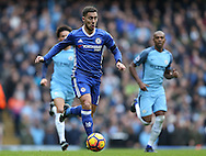 Eden Hazard of Chelsea during the Premier League match at the Etihad Stadium, Manchester. Picture date: December 3rd, 2016. Pic Simon Bellis/Sportimage