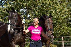 Verschooten Inez, BEL, Athena, Miss Nessie<br /> Stal Verschooten - Waanrode 2018<br /> © Hippo Foto - Stefan Lafrentz<br /> 30/07/18